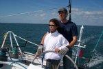 Ballade en mer avec bateau de la route du Rhum 2006