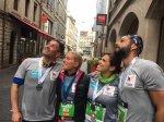 Semi-marathon de Genève 2017 Gaëlle court pour sa fille Chloé