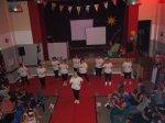 les candidates dansant la zumba